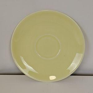 Vintage Dining - Vintage LuRay 3 Yellow Demitasse Cups Saucers MCM